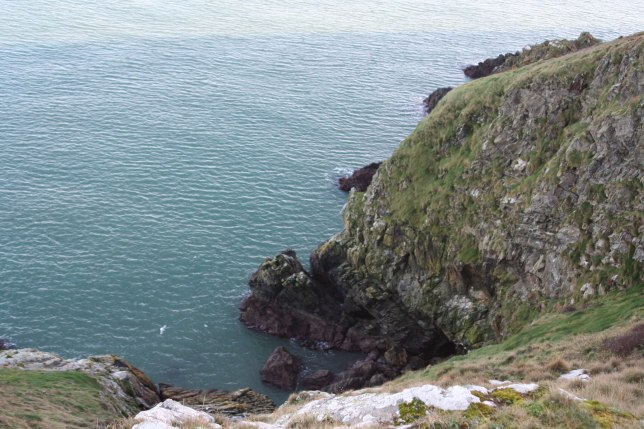 Ancient Quartzite Cliffs of Howth Head, Dublin